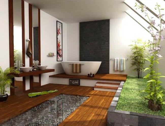 Design Ideas Wood Bathroom Flooring
