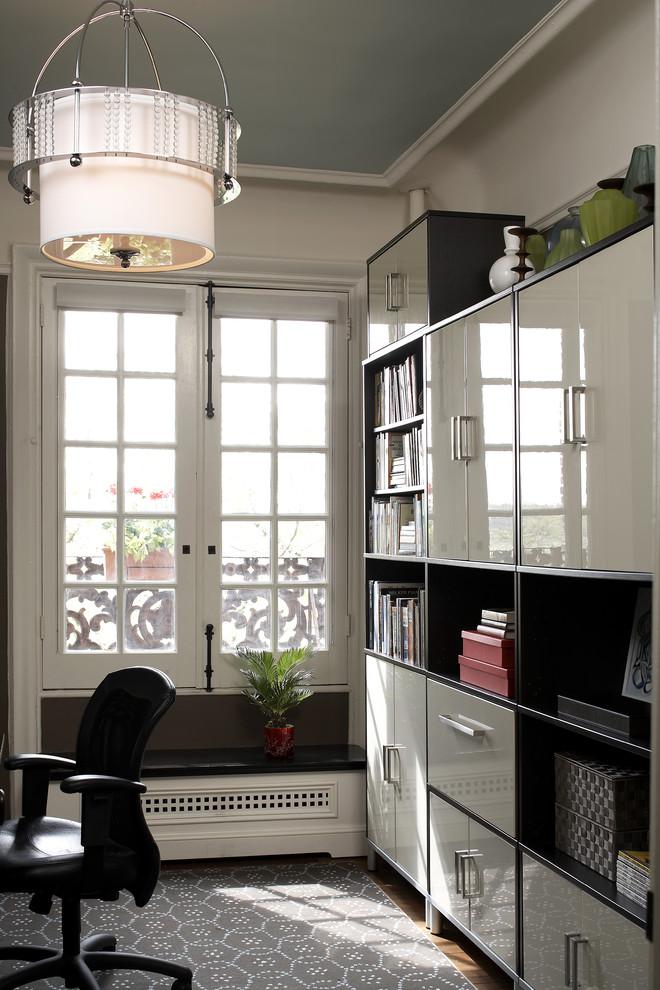 Modern Small Home Office Design
