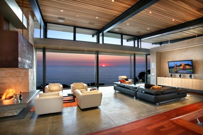 Panoramic-ocean-view-modern-living-room