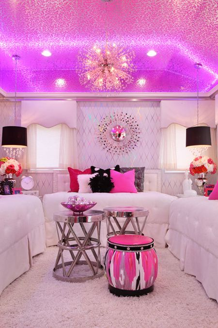 30 Colorful Girls Bedroom Design Ideas You Must Like on Room Decorations For Girls  id=13625