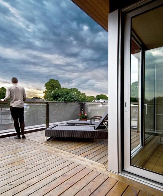 Rooftop Modern Patio Ideas