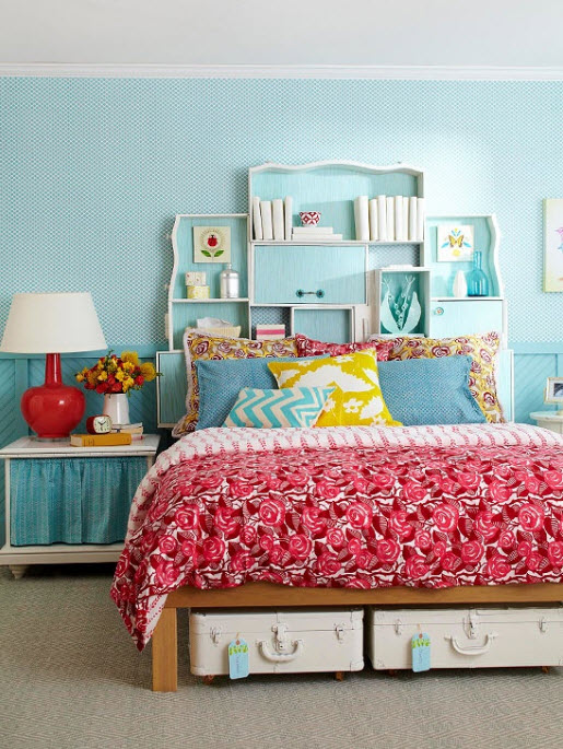 30 Colorful Girls Bedroom Design Ideas You Must Like on Teenager Simple Small Bedroom Design  id=26812