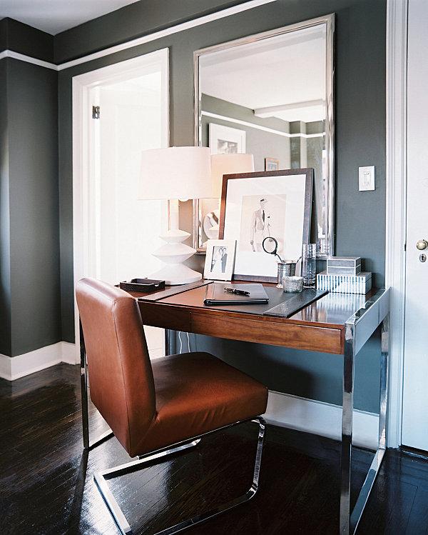 Sleek-modern-home-office
