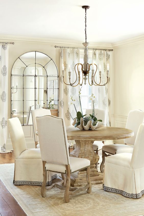 Traditional dining space