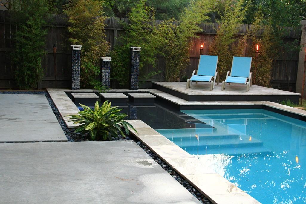 25 Bold & Beautiful Contemporary Swimming Pool Designs on Modern Backyard Ideas With Pool id=54063