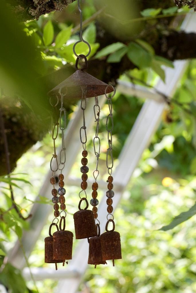 beautiful wind chimes