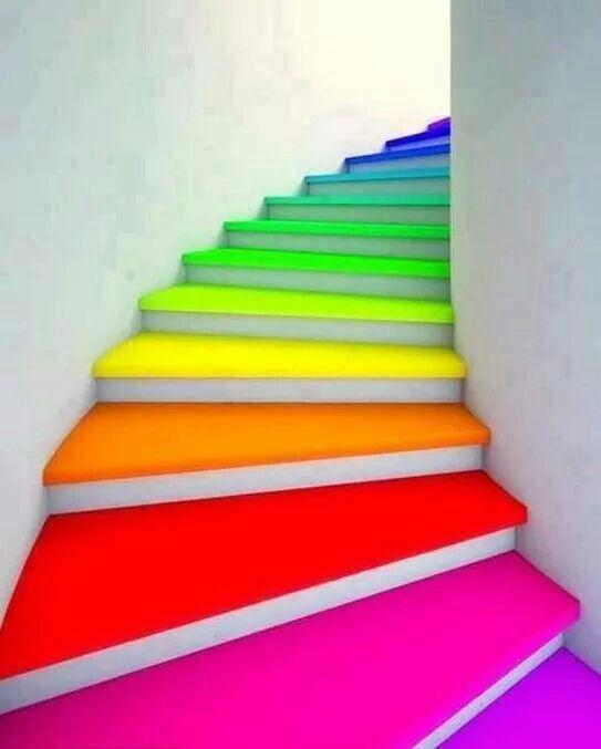rainbow-stairs