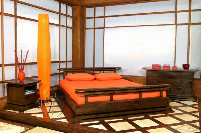 Asian-themed-bedroom-design