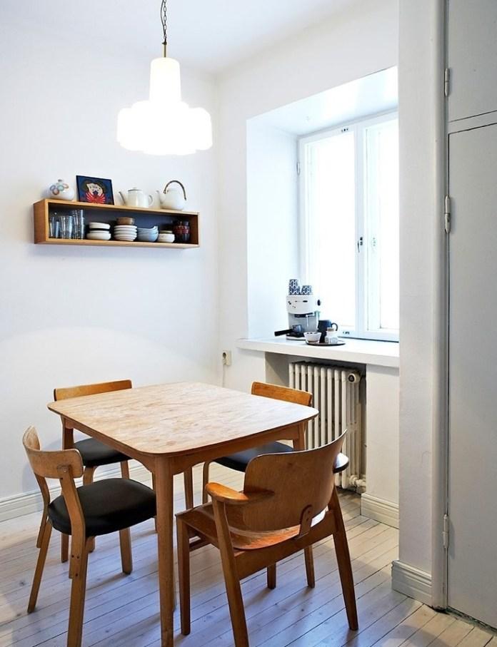 Cool Scandinavian Dining Room