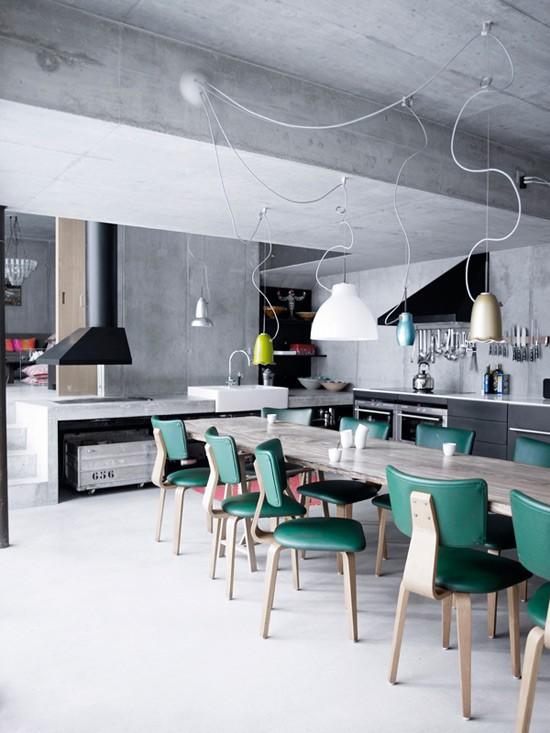 Inspire Industrial Kitchen Design