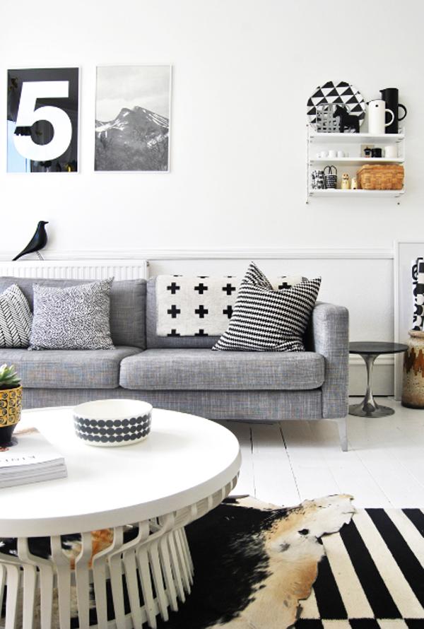 Inspiring White Living Room