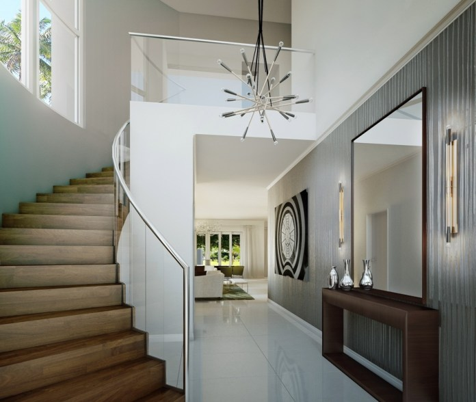 Luxury Foyer Decorating And Design Ideas (22)