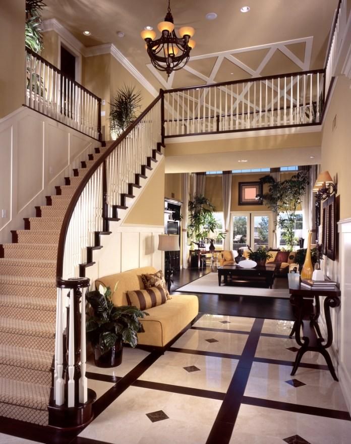 Luxury Foyer Decorating And Design Ideas (25)