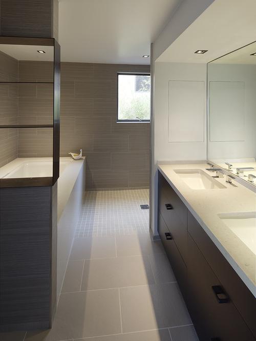 30 Classy And Pleasing Modern Bathroom Design Ideas on Modern Small Bathroom Remodel  id=71585