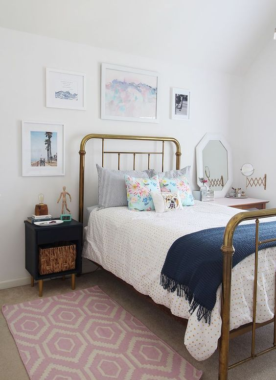 The Simplicity Of Modern Midcentury Bedroom Explained on Teen Decor  id=29203