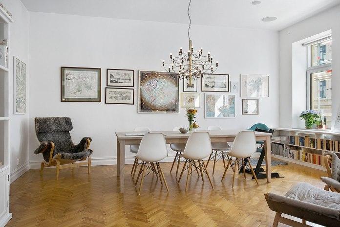 Refined Scandinavian Apartment
