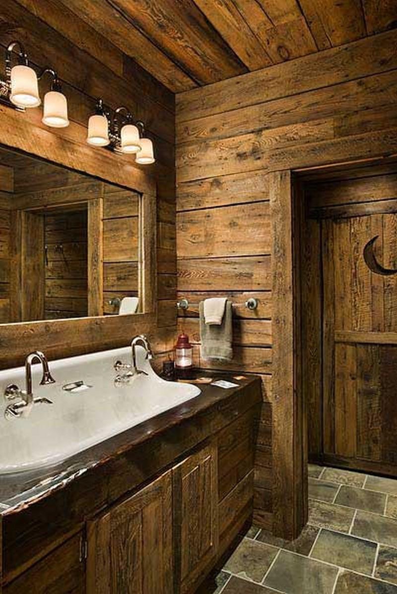 25 Rustic Bathroom Decor Ideas For Urban World on Rural Bathroom  id=12098