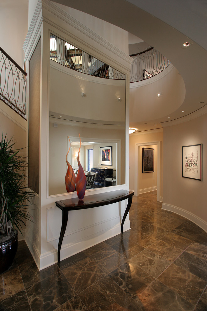 Awesome Unique Foyer Tables Decorating Ideas