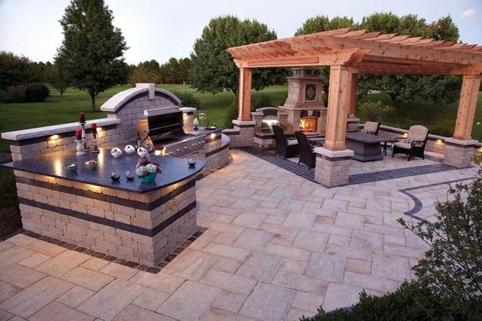 Beautiful Outdoor Kitchen Dayton and Columbus Ohio