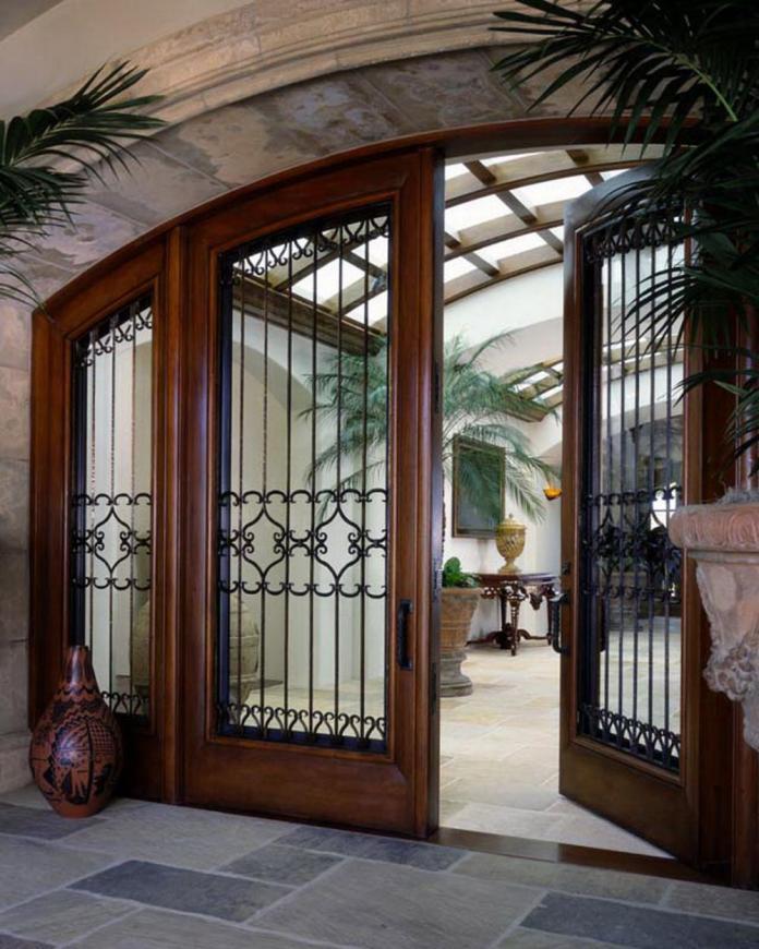 Contemporary main door design for house entrance