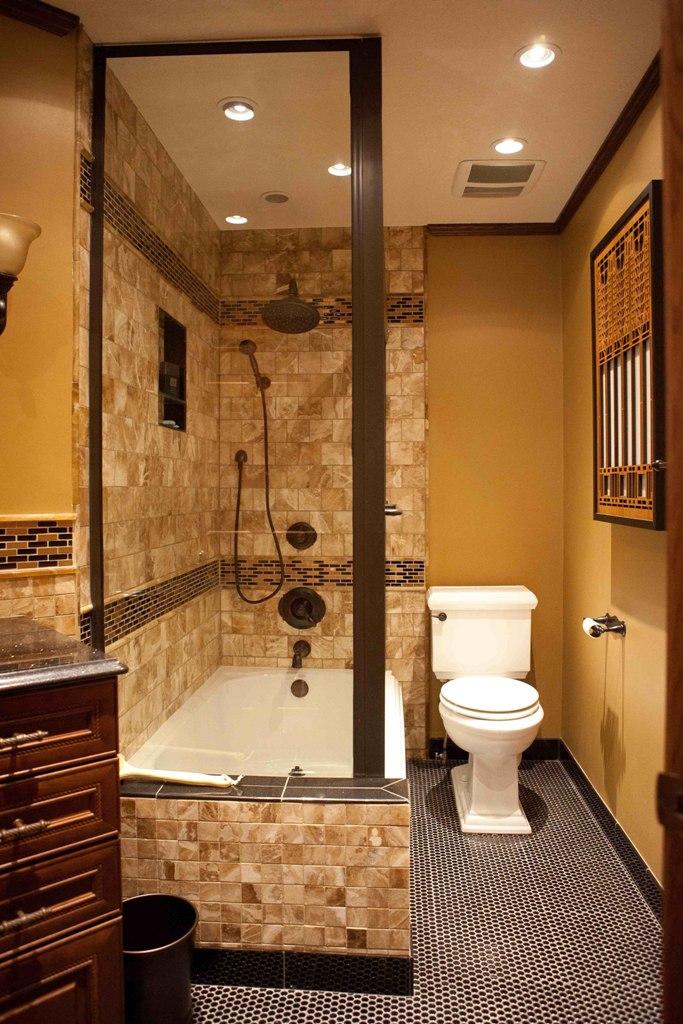 Craftsman Bathroom Remodel-Overall