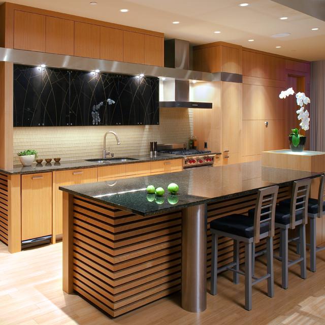 Minneapolis Loft Kitchen asian-kitchen