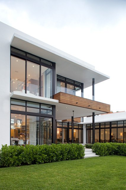 21 Stunning Modern Exterior Design Ideas on Modern Glass Houses  id=68325