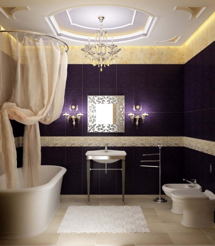 Modern Luxury Bathroom Decor Ideas For Apartment