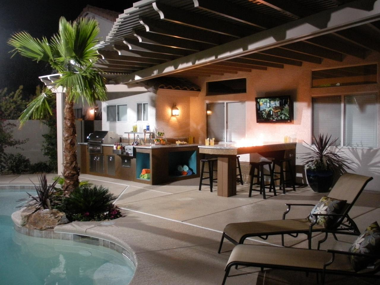 Outdoor Kitchen - Designing The Perfect Backyard Cooking ... on Patio Kitchen id=62058