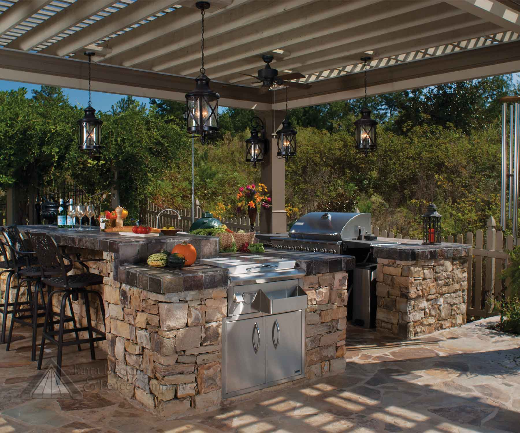Outdoor Kitchen - Designing The Perfect Backyard Cooking ... on Patio Kitchen  id=64777