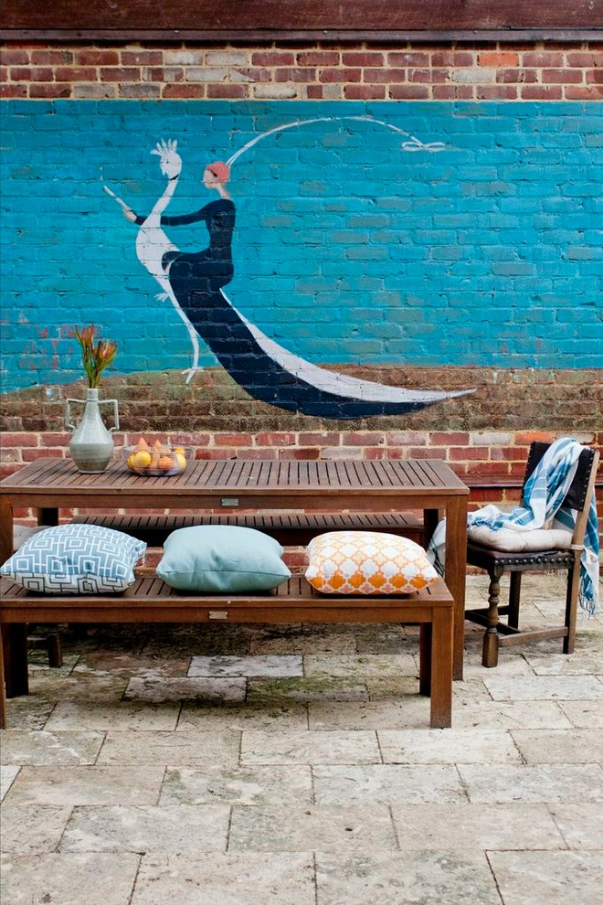 Wall-Murals-Decorating-Ideas-Gallery-in-Patio-Eclectic-design