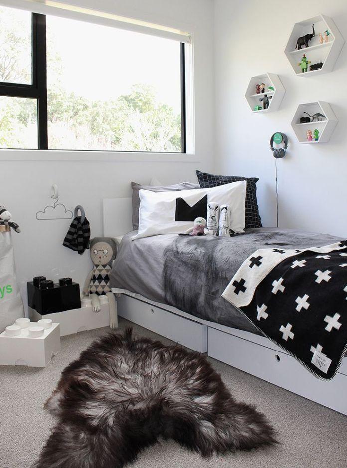dark kids bedroom
