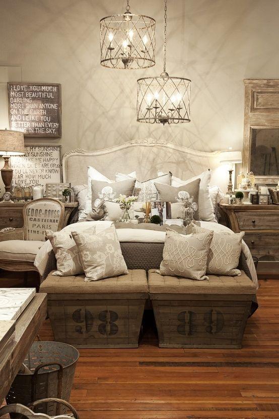 25 Simple Farmhouse Bedroom Design Ideas on Farmhouse Curtains Ideas  id=96268
