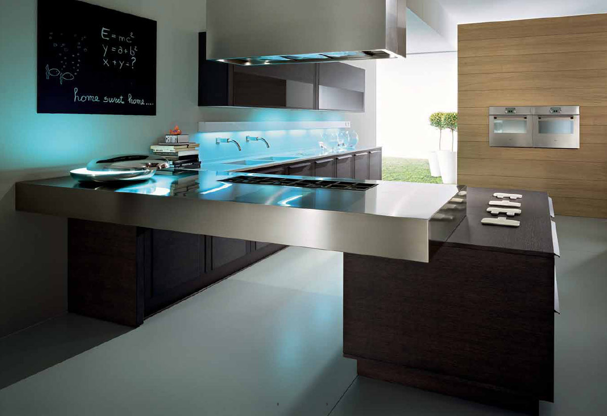 33 Simple And Practical Modern Kitchen Designs on Ultra Modern Luxury Modern Kitchen Designs  id=91732