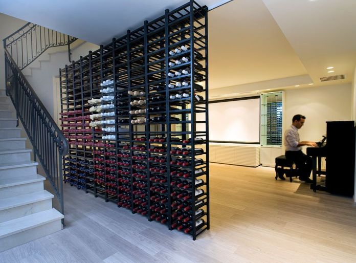 wine-rack-with-contemporary-basement