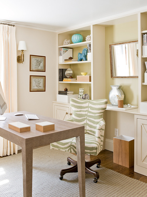 Beach Style Home Office Design Ideas