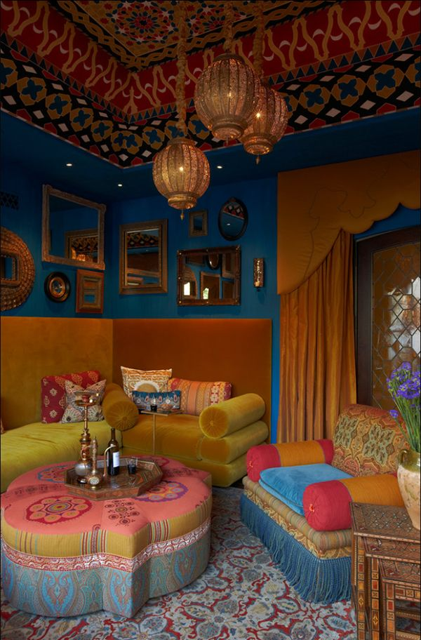 25 Awesome Bohemian Living Room Design Ideas on Bohemian Living Room Decor Ideas  id=53496