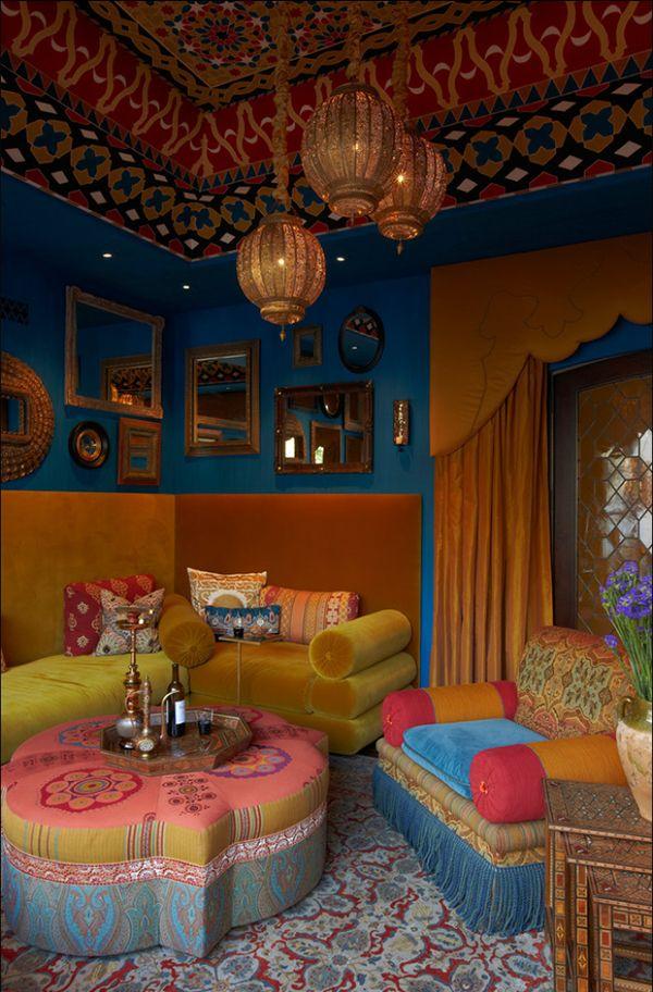 Bohemian-living-room-rich-colors