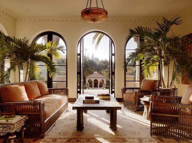 Classic Mediterranean Living Room Designs