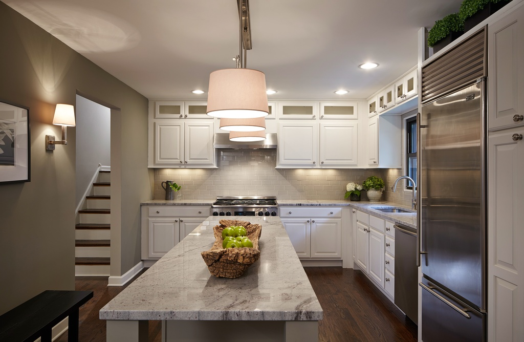 Contemporary Kitchen with Armstrong Flooring