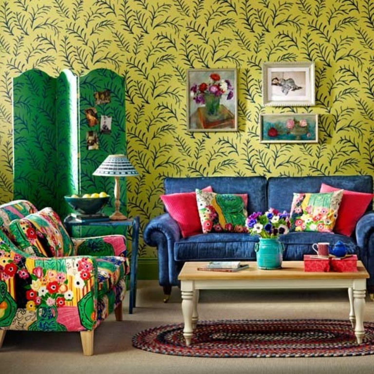 25 Awesome Bohemian Living Room Design Ideas on Bohemian Living Room Decor Ideas  id=48485