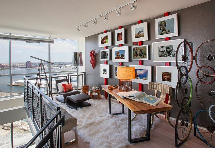 Industrial-home-office-uses-red-in-an-ingenious-and-sporadic-fashion