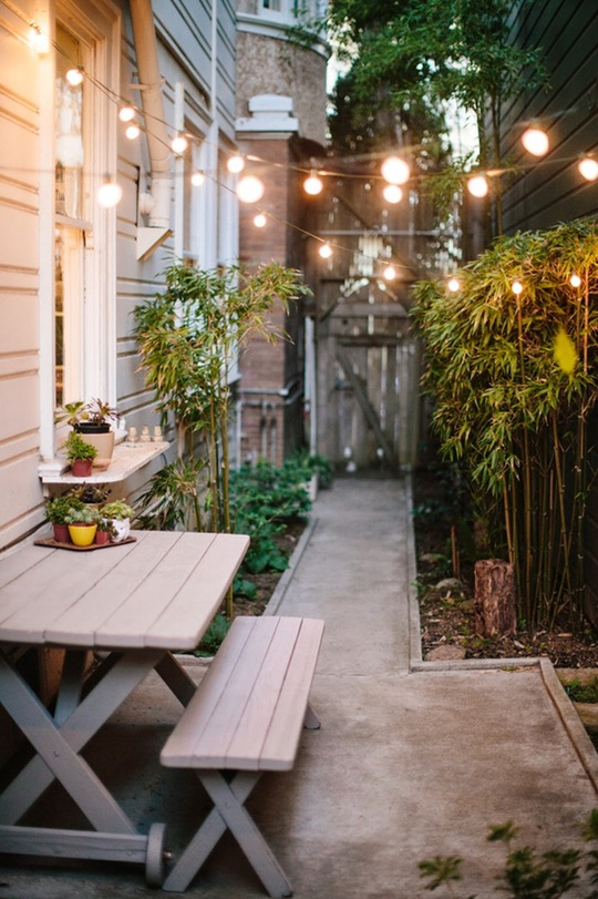 Make the Most of Your Small Outdoor Space