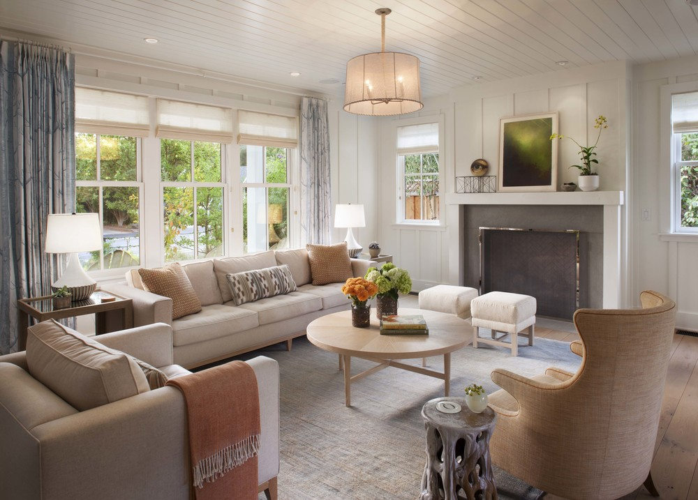 Transform Your Home With Farmhouse Living room on Curtains For Farmhouse Living Room  id=72118