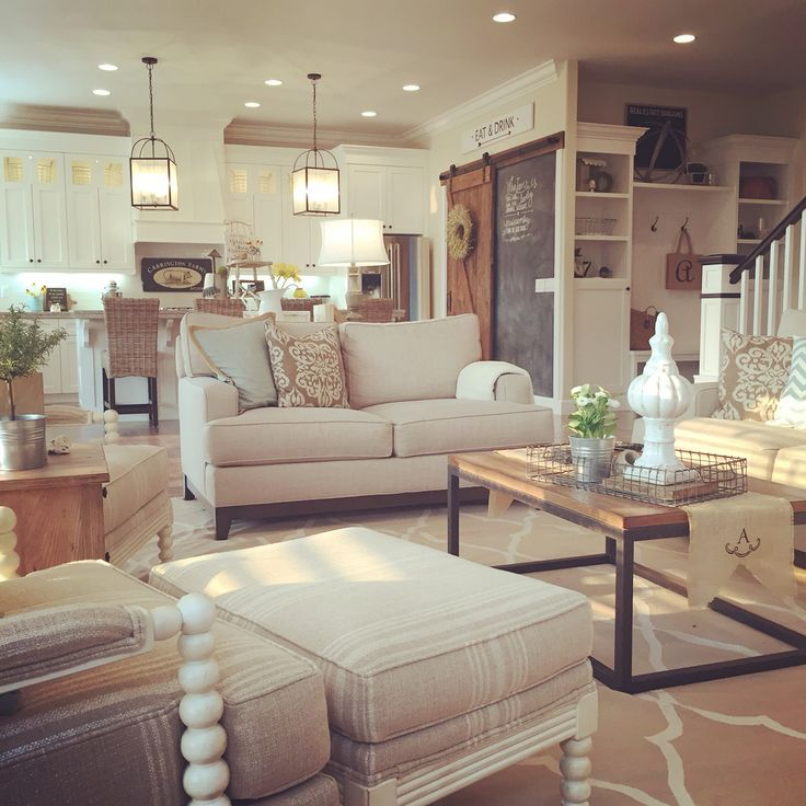 Transform Your Home With Farmhouse Living room on Curtains For Farmhouse Living Room  id=77527