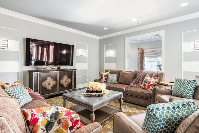 Transitional Basement Design