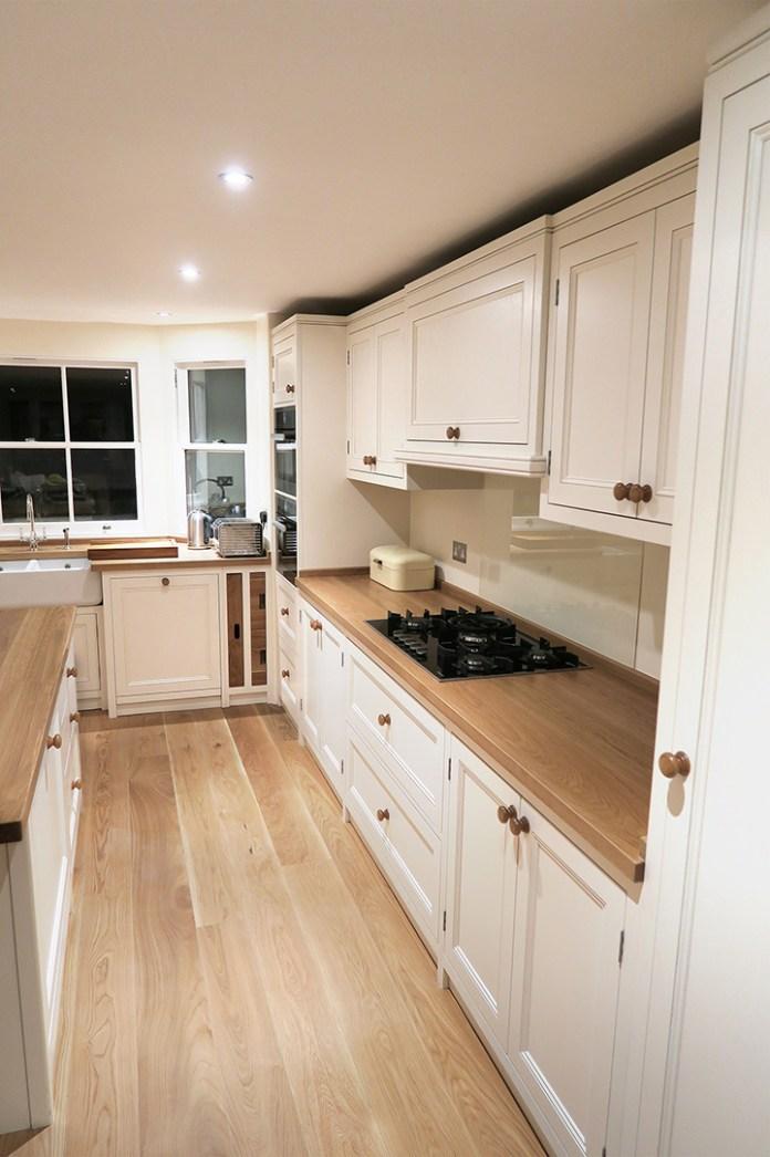 white-kitchen-oak-flooring