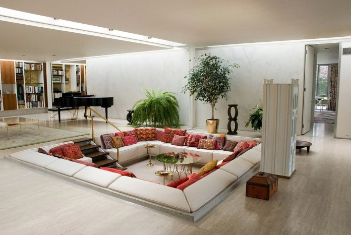 living room and with modern setting