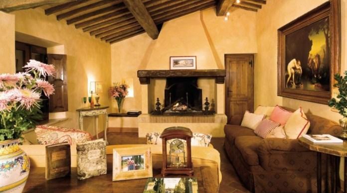 Tuscan Living Room Ideas (14)