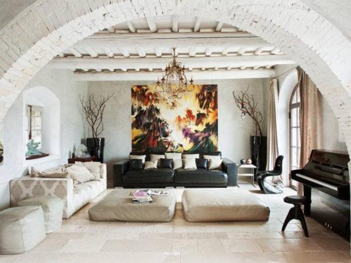Tuscan Living Room Ideas (8)